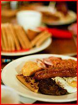 Morgenmad - et eksempel som man nok ikke skal følge hver dag