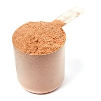 En scoop proteinpulver